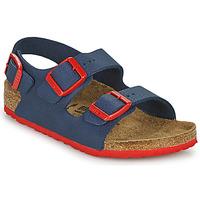 Čevlji  Dečki Sandali & Odprti čevlji Birkenstock MILANO Modra / Rdeča