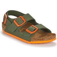 Čevlji  Dečki Sandali & Odprti čevlji Birkenstock MILANO Kaki / Oranžna