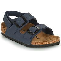 Čevlji  Dečki Sandali & Odprti čevlji Birkenstock MILANO HL Modra
