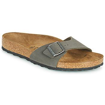 Čevlji  Moški Natikači Birkenstock MADRID Siva