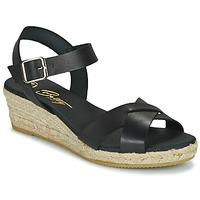 Čevlji  Ženske Sandali & Odprti čevlji Betty London GIORGIA Črna