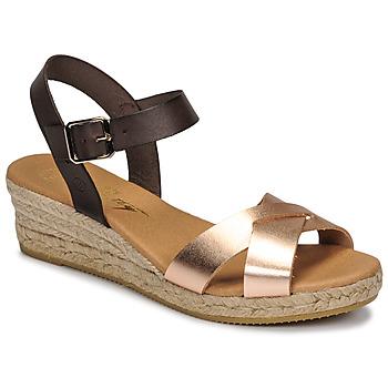 Čevlji  Ženske Sandali & Odprti čevlji Betty London GIORGIA Kostanjeva / Nude