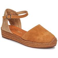 Čevlji  Ženske Sandali & Odprti čevlji Betty London ANTALA Cognac