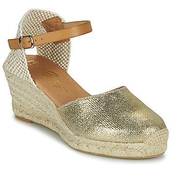 Čevlji  Ženske Sandali & Odprti čevlji Betty London CASSIA Pozlačena