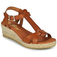 Čevlji  Ženske Sandali & Odprti čevlji Betty London OBORSEL Cognac