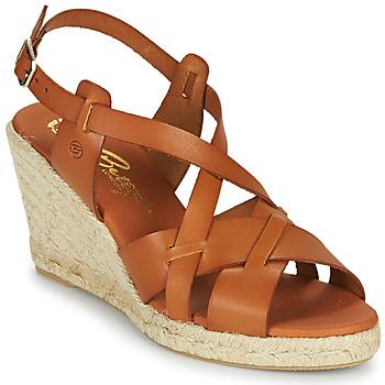 Čevlji  Ženske Sandali & Odprti čevlji Betty London OSAVER Kamel