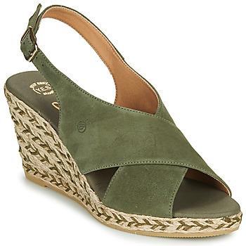 Čevlji  Ženske Sandali & Odprti čevlji Betty London OHINDRA Kaki
