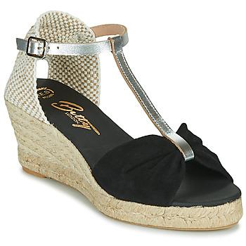Čevlji  Ženske Sandali & Odprti čevlji Betty London OREINOA Črna