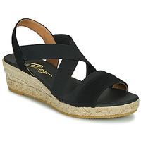 Čevlji  Ženske Sandali & Odprti čevlji Betty London OLINDR Črna