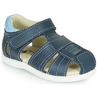 Čevlji  Dečki Sandali & Odprti čevlji Citrouille et Compagnie OLISS Modra