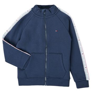 Oblačila Dečki Puloverji Tommy Hilfiger  Modra