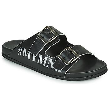Čevlji  Moški Sandali & Odprti čevlji Melvin & Hamilton ROBERT 10 Črna