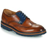 Čevlji  Moški Čevlji Derby Melvin & Hamilton MATTHEW 33 Kostanjeva