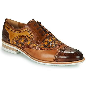 Čevlji  Moški Čevlji Derby Melvin & Hamilton HENRY 7 Kostanjeva