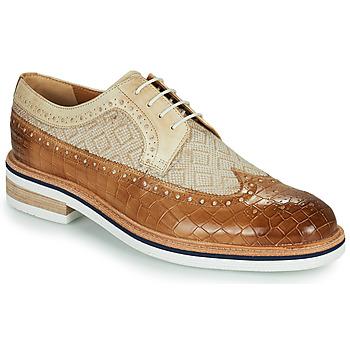 Čevlji  Moški Čevlji Derby Melvin & Hamilton TREVOR 10 Kostanjeva
