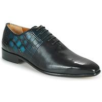 Čevlji  Moški Čevlji Richelieu Melvin & Hamilton LANCE 61 Črna / Modra