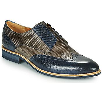 Čevlji  Moški Čevlji Derby Melvin & Hamilton BOBBY 1 Siva / Modra