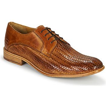Čevlji  Moški Čevlji Richelieu Melvin & Hamilton EDDY 8 Kostanjeva