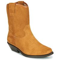 Čevlji  Ženske Mestni škornji    Betty London OSONGE Cognac