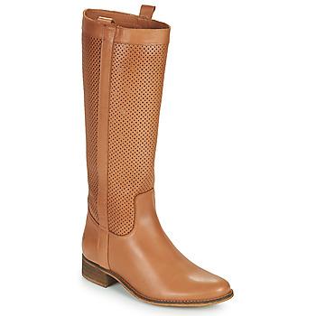 Čevlji  Ženske Mestni škornji    Betty London ONEVER Cognac