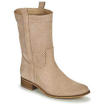 Čevlji  Ženske Mestni škornji    Betty London ONEVER Bež