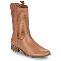 Čevlji  Ženske Mestni škornji    Betty London ORYPE Cognac