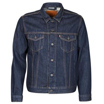 Oblačila Moški Jeans jakne Levi's THE TRUCKER JACKET Modra
