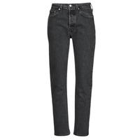 Oblačila Ženske Jeans boyfriend Levi's 501 CROP Črna