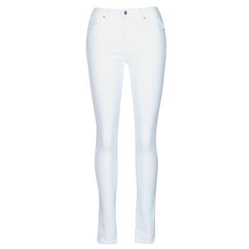 Oblačila Ženske Jeans skinny Levi's 721 HIGH RISE SKINNY Bela