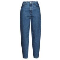 Oblačila Ženske Jeans boyfriend Levi's HIGH LOOSE TAPER Modra