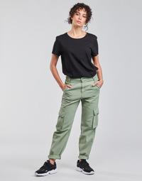 Oblačila Ženske Hlače cargo Levi's LOOSE CARGO Siva / Zelena