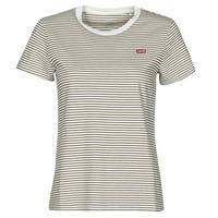 Oblačila Ženske Majice s kratkimi rokavi Levi's PERFECT TEE Bež
