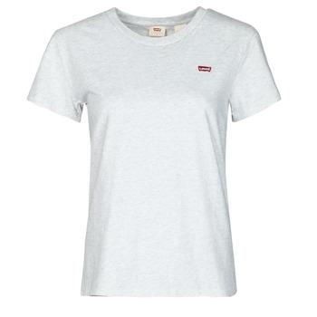 Oblačila Ženske Majice s kratkimi rokavi Levi's PERFECT TEE Siva