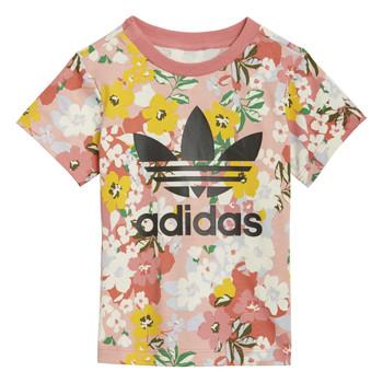 Oblačila Deklice Majice s kratkimi rokavi adidas Originals DREZZI Večbarvna