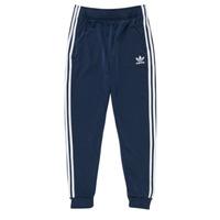 Oblačila Otroci Spodnji deli trenirke  adidas Originals GN8454 Modra