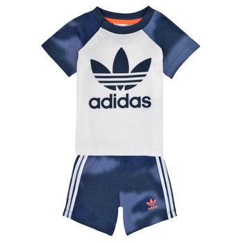 Oblačila Dečki Otroški kompleti adidas Originals GN4110 Bela