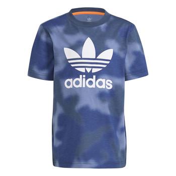Oblačila Dečki Majice s kratkimi rokavi adidas Originals GN4119 Modra