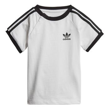 Oblačila Otroci Majice s kratkimi rokavi adidas Originals DV2824 Bela