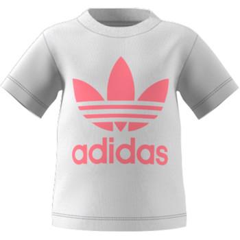 Oblačila Otroci Majice s kratkimi rokavi adidas Originals GN8175 Bela