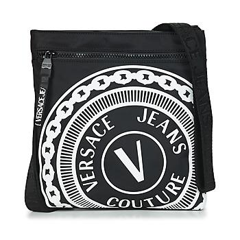 Torbice Moški Torbice Versace Jeans Couture SOLEDA Črna / Bela