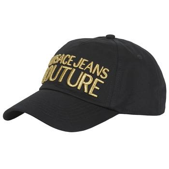 Tekstilni dodatki Kape s šiltom Versace Jeans Couture WALLY Črna