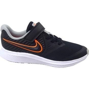Čevlji  Otroci Fitnes / Trening Nike Star Runner 2 Črna