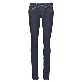 Oblačila Ženske Kavbojke slim Pepe jeans NEW BROOKE Modra / Brut / M15