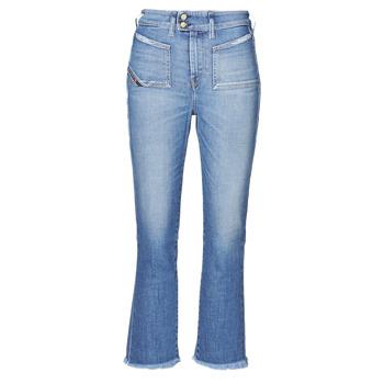 Oblačila Ženske Kavbojke bootcut Diesel D-EARLIE-H Modra