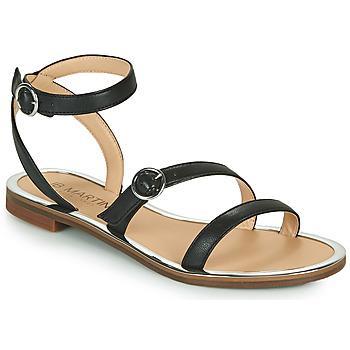 Čevlji  Deklice Sandali & Odprti čevlji JB Martin 1GILANA Črna