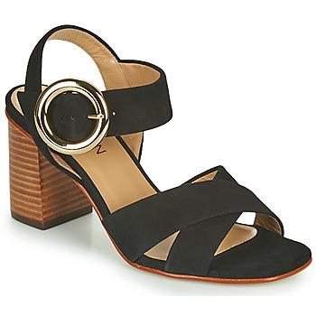 Čevlji  Ženske Sandali & Odprti čevlji JB Martin 1NICKY Črna