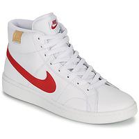 Čevlji  Moški Nizke superge Nike COURT ROYALE 2 MID Bela / Rdeča