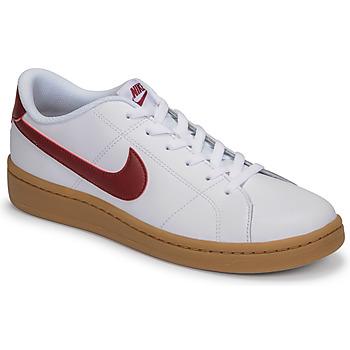 Čevlji  Moški Nizke superge Nike COURT ROYALE 2 LOW Bela / Rdeča