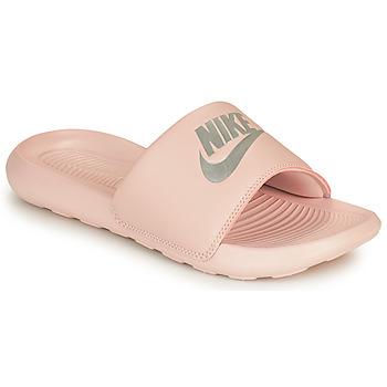 Čevlji  Ženske Natikači Nike VICTORI ONE BENASSI Rožnata / Srebrna
