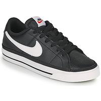 Čevlji  Ženske Nizke superge Nike COURT LEGACY Črna / Bela